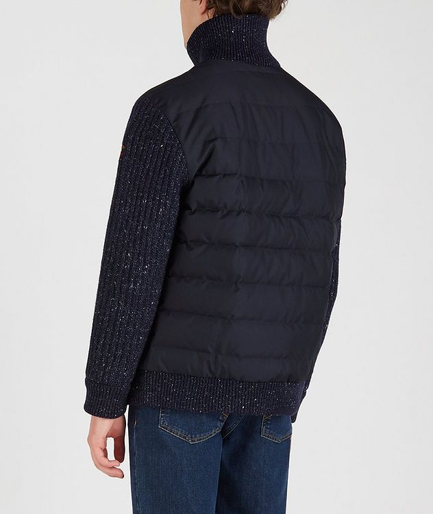 Typhoon 20000 Zip-Up Quilted-Knit Sweater picture 3