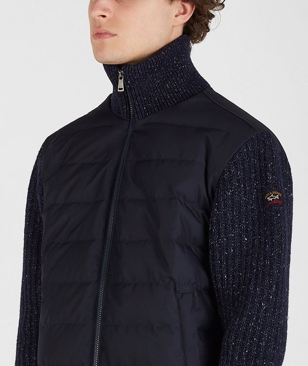 Typhoon 20000 Zip-Up Quilted-Knit Sweater picture 4