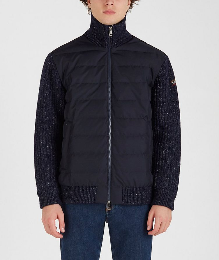 Typhoon 20000 Zip-Up Quilted-Knit Sweater image 0
