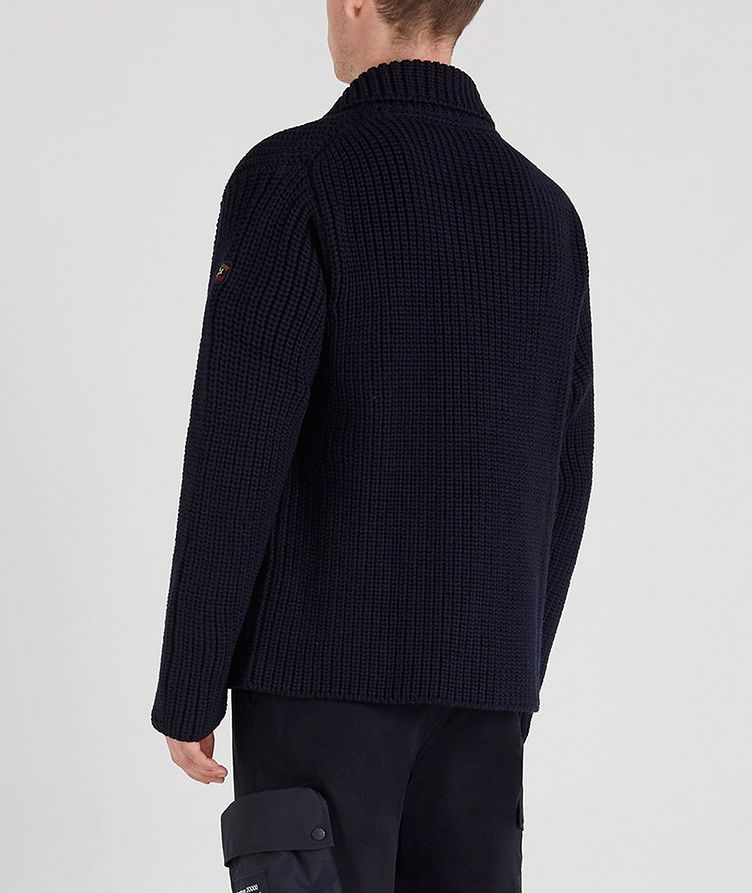 Double-Breasted Cable-Knit Cardigan image 2