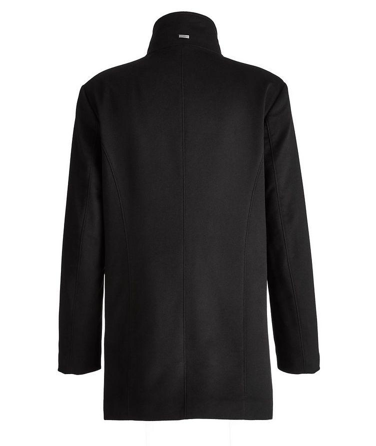 Cashmere Fur Collar Rain System Overcoat image 1