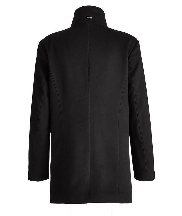 Cashmere Fur Collar Rain System Overcoat picture 2