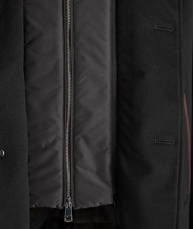 Cashmere Fur Collar Rain System Overcoat picture 4