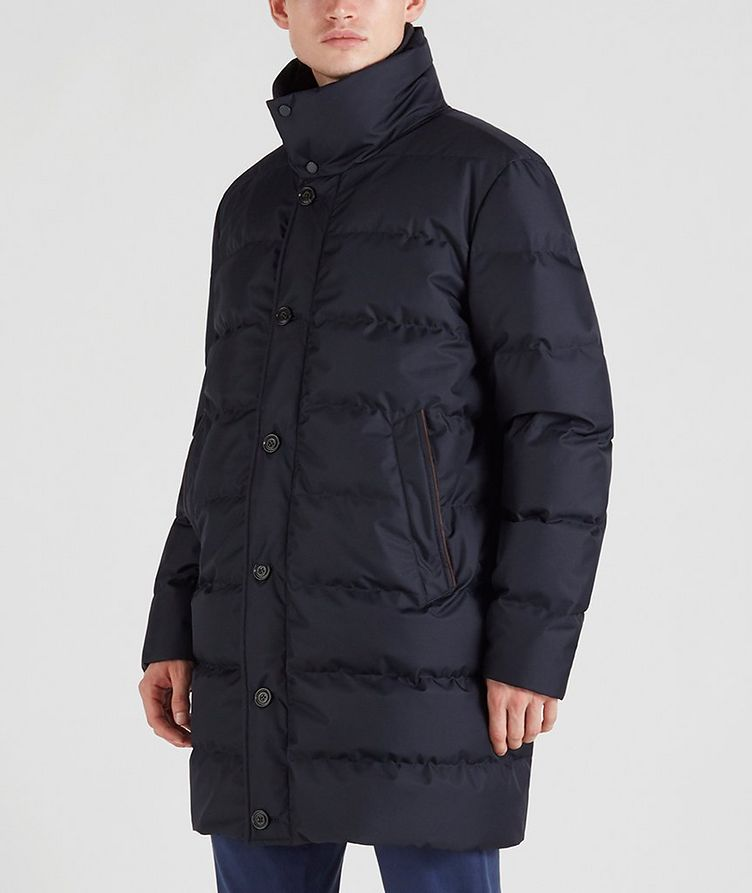 Quilted Down Jacket image 1