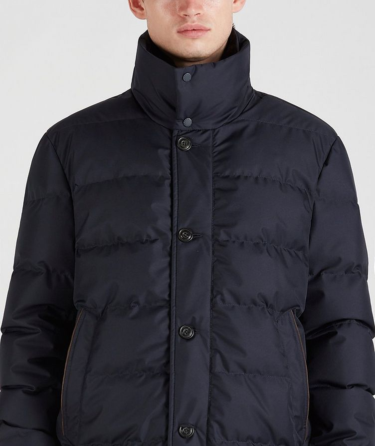 Quilted Down Jacket image 3