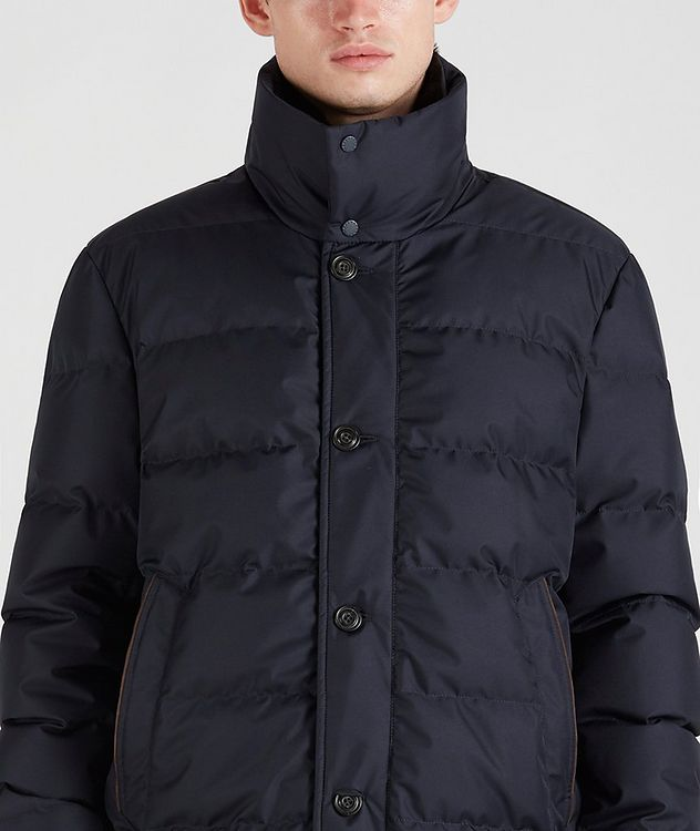 Quilted Down Jacket picture 4