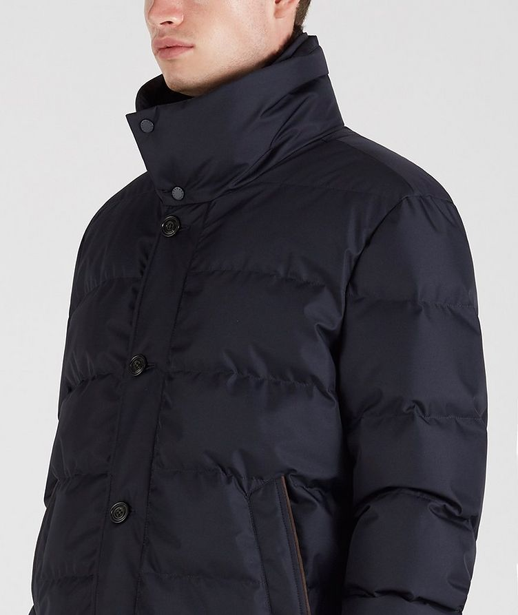 Quilted Down Jacket image 4