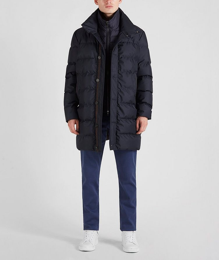 Quilted Down Jacket image 5