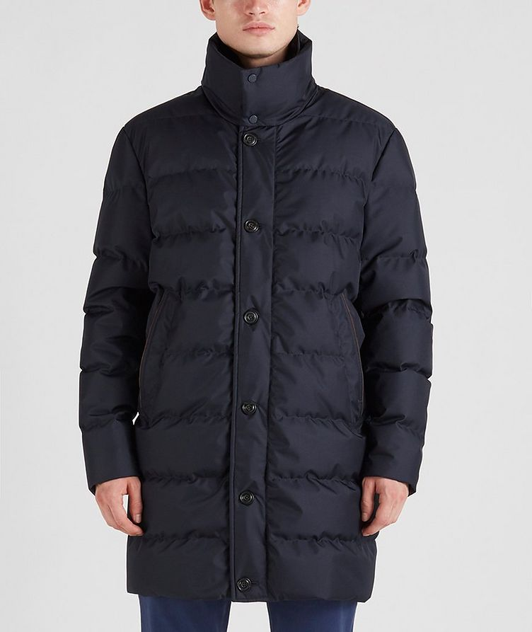 Quilted Down Jacket image 0