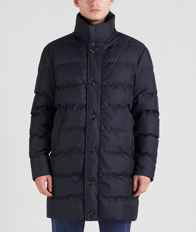 Quilted Down Jacket picture 1