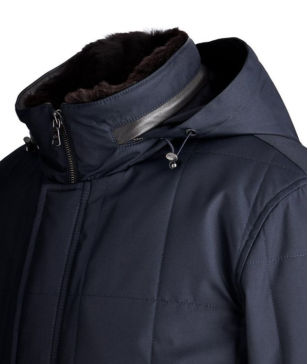 Typhoon 20000 Quilted Rabbit-Liner Parka picture 2