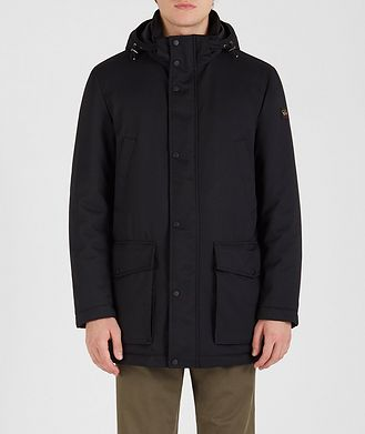 Paul & Shark Typhoon 20000 Twill Hooded Parka