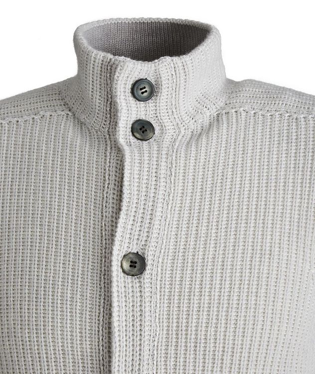 Ketch Reversible Cotton-Cashmere Cardigan picture 2