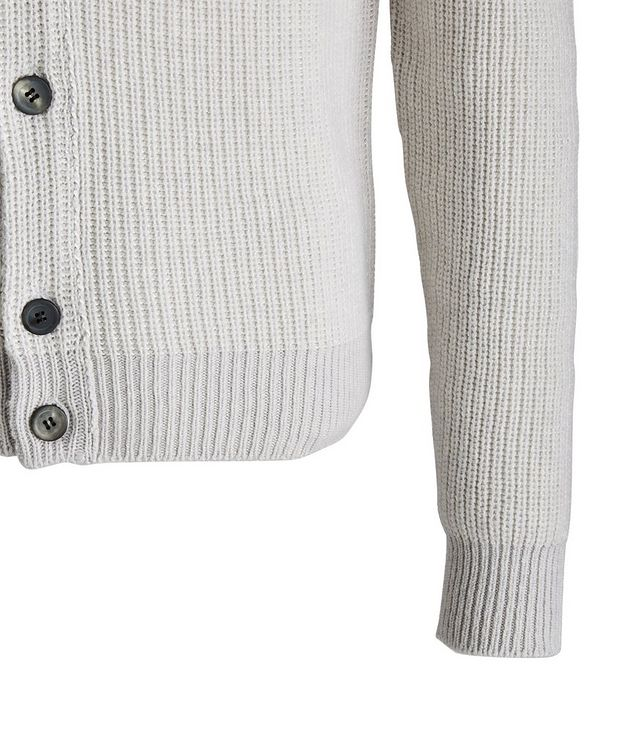 Ketch Reversible Cotton-Cashmere Cardigan picture 3