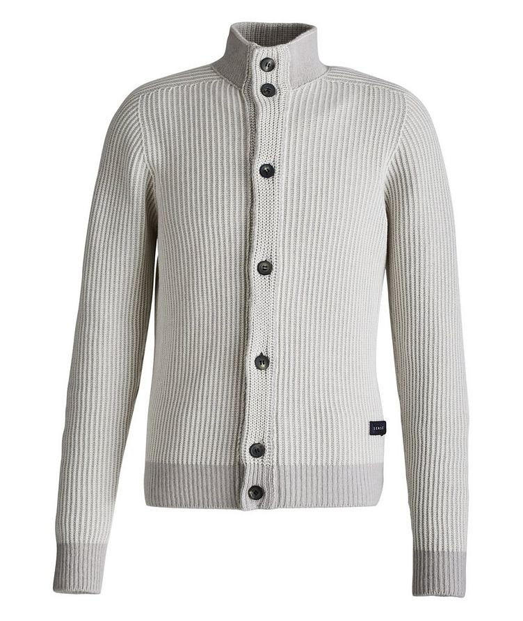 Ketch Reversible Cotton-Cashmere Cardigan image 3