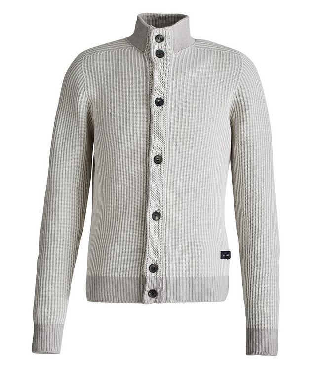 Ketch Reversible Cotton-Cashmere Cardigan picture 4