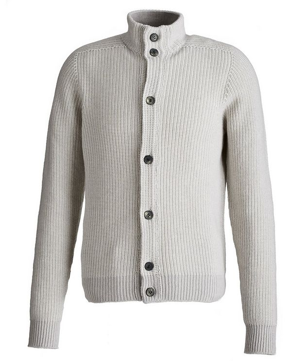 Ketch Reversible Cotton-Cashmere Cardigan picture 1