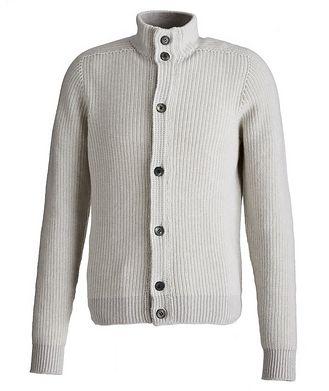 SEASE Ketch Reversible Cotton-Cashmere Cardigan
