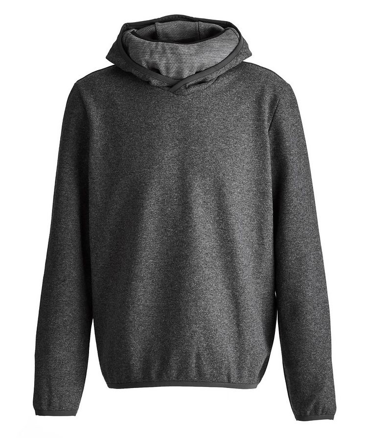 Drone Wool-Cashmere Blend Face Mask Hoodie image 0