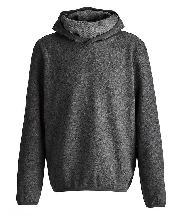 Drone Wool-Cashmere Blend Face Mask Hoodie picture 1