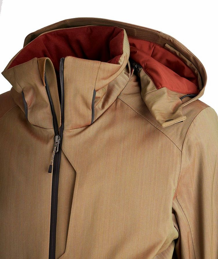 Armada Hooded Tech-Wool Ski Jacket image 2