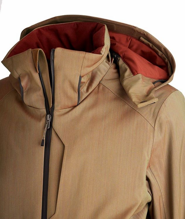 Armada Hooded Tech-Wool Ski Jacket picture 3