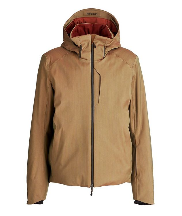Armada Hooded Tech-Wool Ski Jacket picture 1