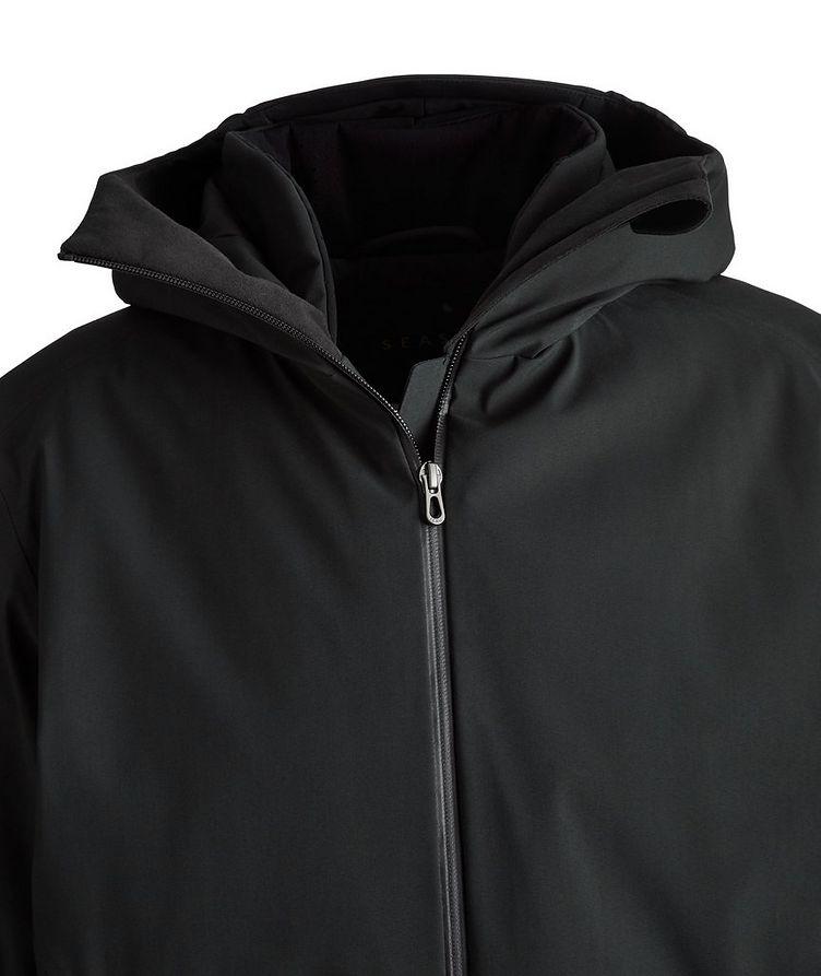 Armada Long Hooded Tech-Wool Parka image 2