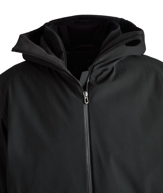 Armada Long Hooded Tech-Wool Parka picture 3