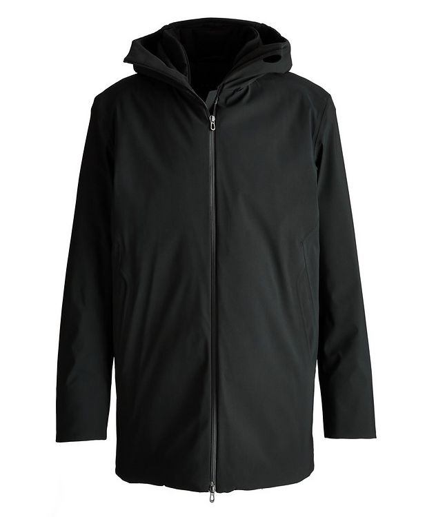 Armada Long Hooded Tech-Wool Parka picture 1