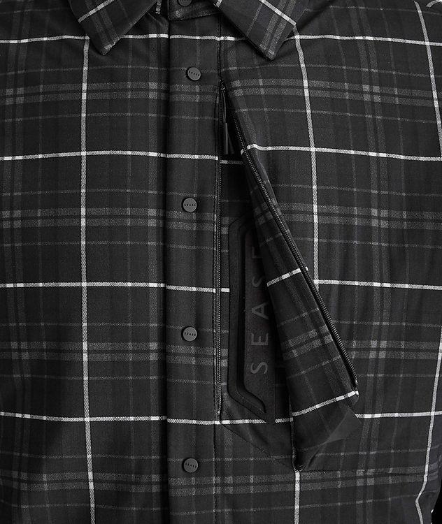 Veste-chemise Gate matelassée à carreaux picture 3