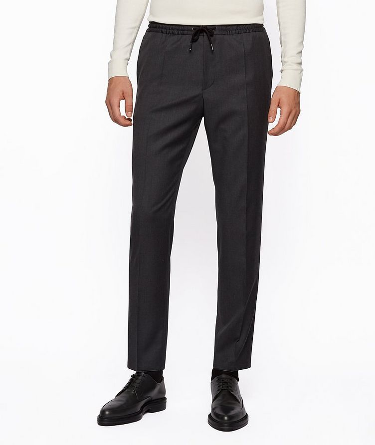 Banks Slim-Fit Drawstring Trousers image 1