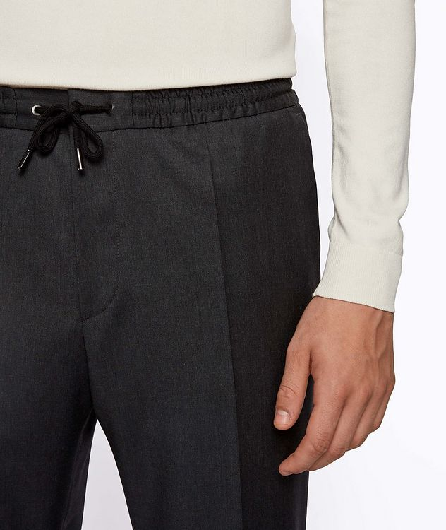 Banks Slim-Fit Drawstring Trousers picture 4