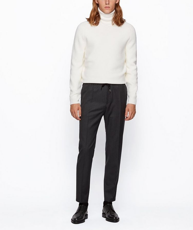 Banks Slim-Fit Drawstring Trousers image 4