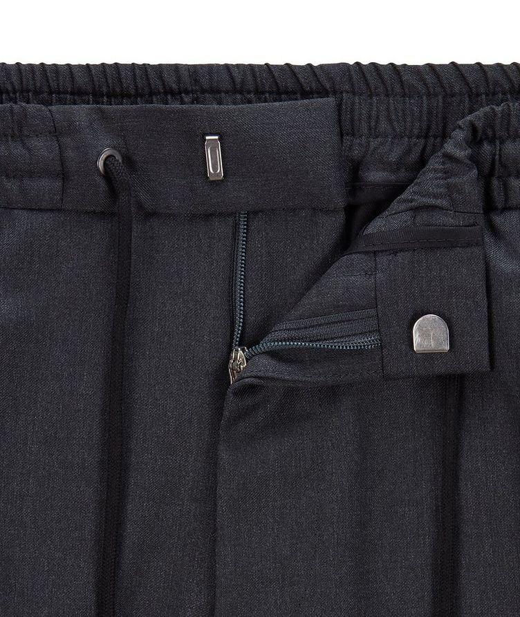 Banks Slim-Fit Drawstring Trousers image 5