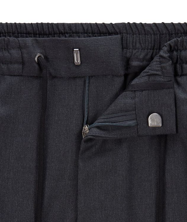 Banks Slim-Fit Drawstring Trousers picture 6