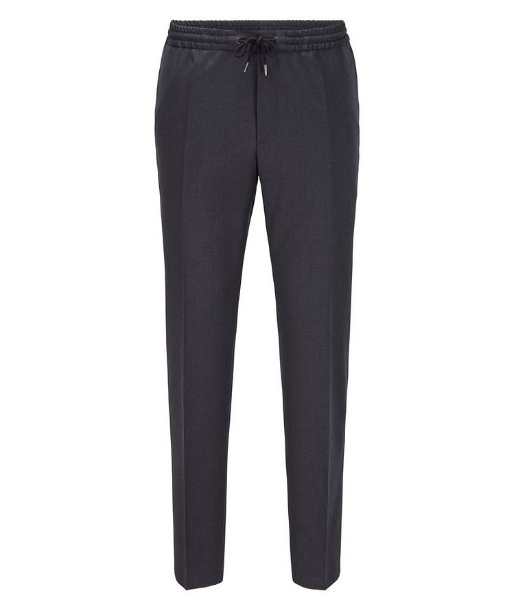 Banks Slim-Fit Drawstring Trousers image 0