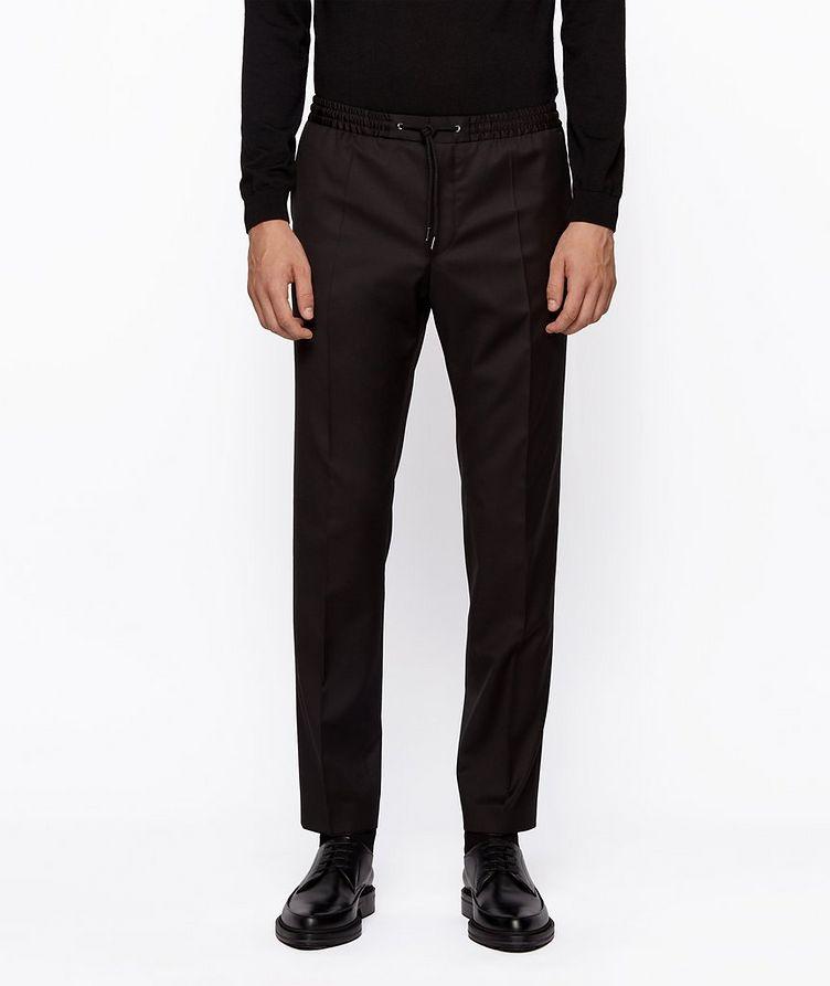 Banks Slim-Fit Drawstring Trousers image 1