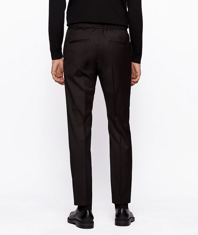Banks Slim-Fit Drawstring Trousers picture 3