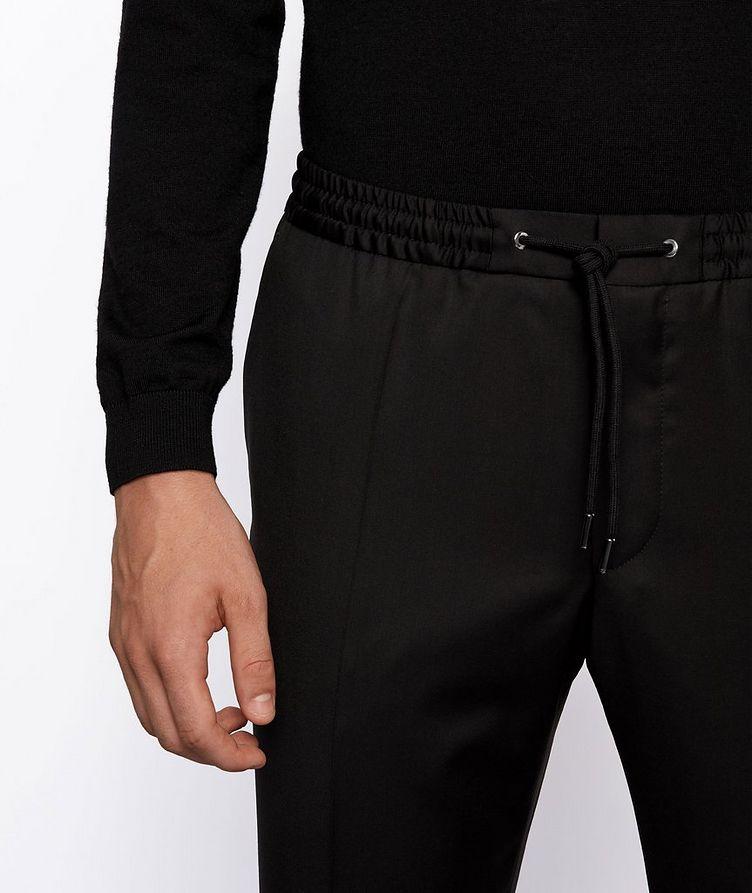 Banks Slim-Fit Drawstring Trousers image 3