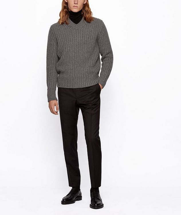Banks Slim-Fit Drawstring Trousers picture 5