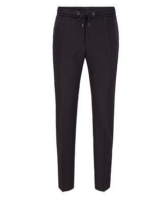 BOSS Banks Slim-Fit Drawstring Trousers