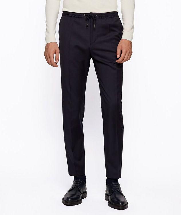 Pantalon Banks à cordon de coupe amincie picture 2