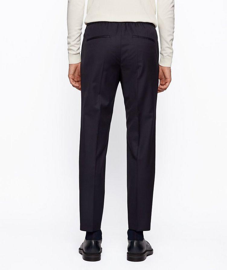 Pantalon Banks à cordon de coupe amincie image 2