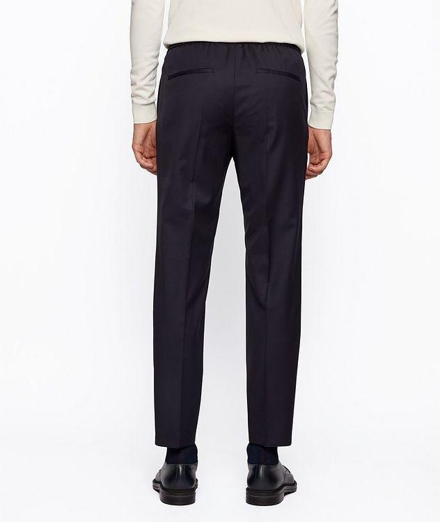 Pantalon Banks à cordon de coupe amincie picture 3