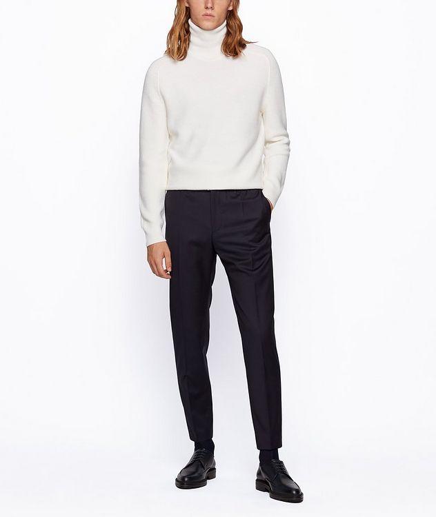 Pantalon Banks à cordon de coupe amincie picture 5