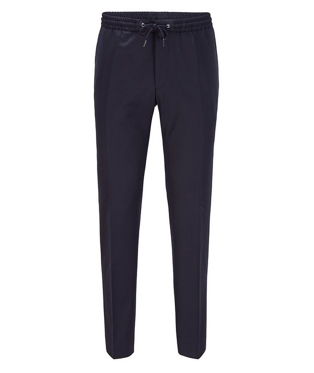 Banks Slim-Fit Drawstring Trousers picture 1