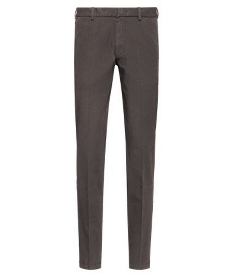 Slim Fit Travel Stretch-Twill Pants image 0