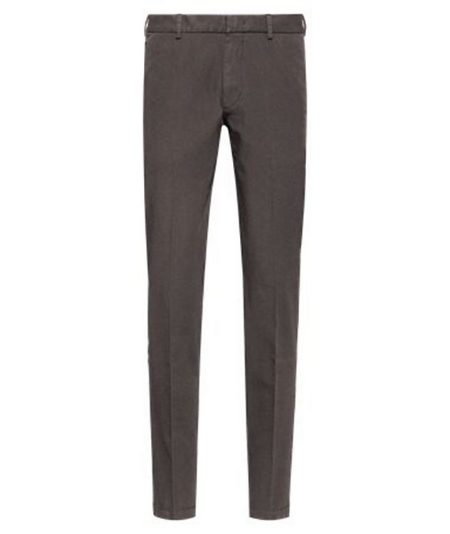 Slim Fit Travel Stretch-Twill Pants picture 1