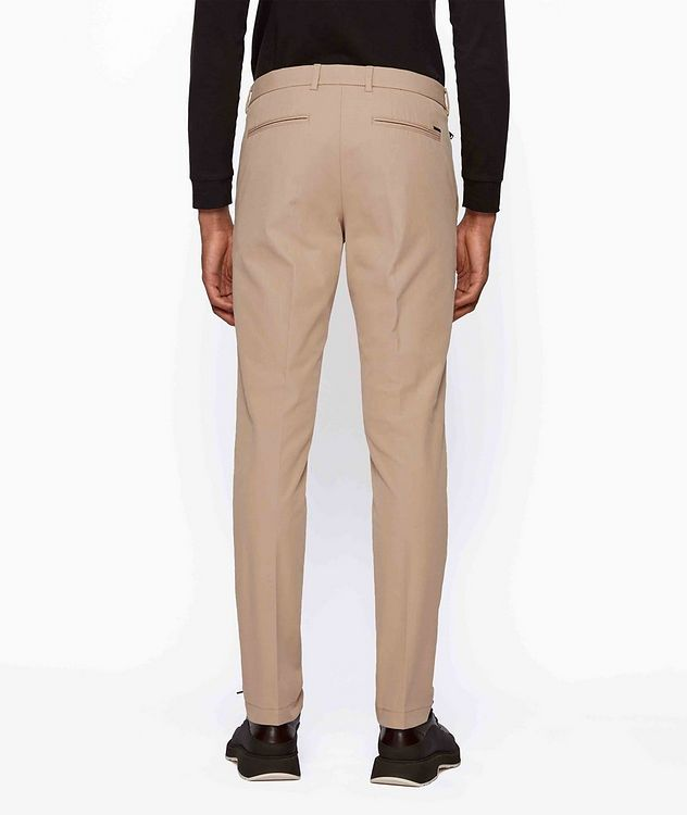 Slim Fit Travel Stretch-Twill Pants picture 3